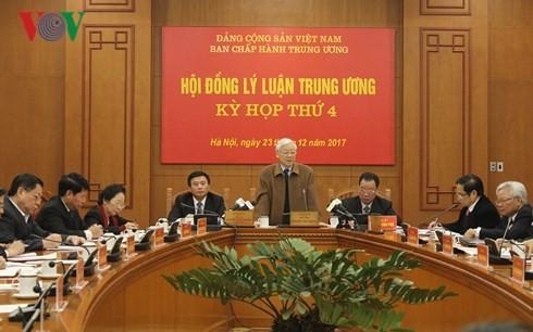 Генсек ЦК КПВ принял участие в 4-м заседании Центрального теоретического совета - ảnh 1