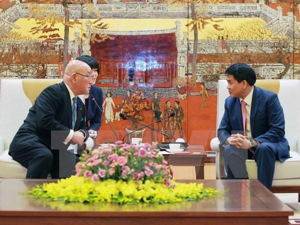 Фестиваль cакуры – важное мероприятие, посвященное 45-летию дипотношений между Вьетнамом и Японией - ảnh 1