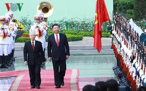 Важные вехи в дипотношениях между Вьетнамом и партнёрами в 2017 году - ảnh 2