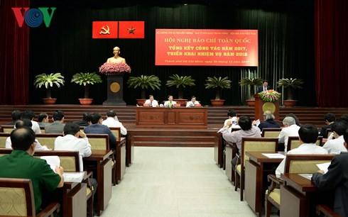 Во Ван Тхыонг участвовал в общереспубликанской журналистской конференции - ảnh 1