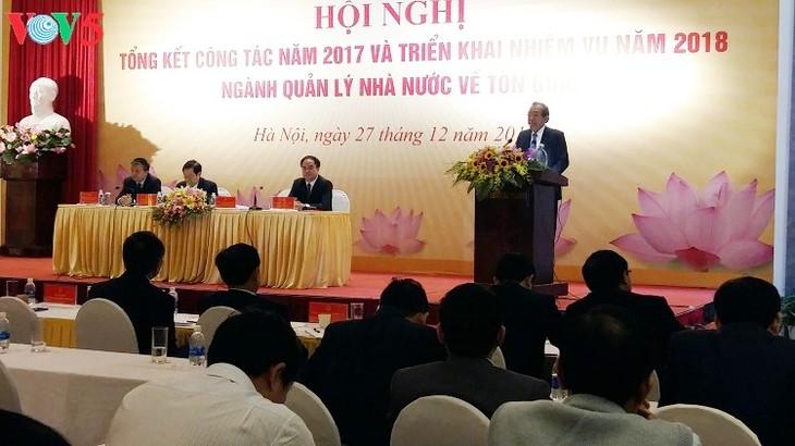 Во Вьетнаме государственное управление в религиозной сфере даёт хороший эффект - ảnh 1