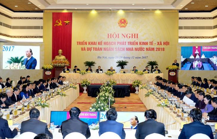 В 2017 году по всему Вьетнаму активно осуществлялась международная интеграция страны - ảnh 1