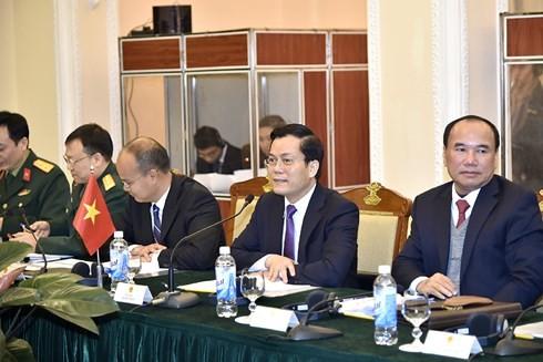 Состоялся 9-й вьетнамо-американский диалог по вопросам политики, безопасности и обороны - ảnh 1