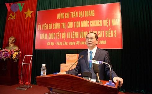 Cтроительство революционной, регулярной, гвардейской и современной морской полиции Вьетнама - ảnh 1