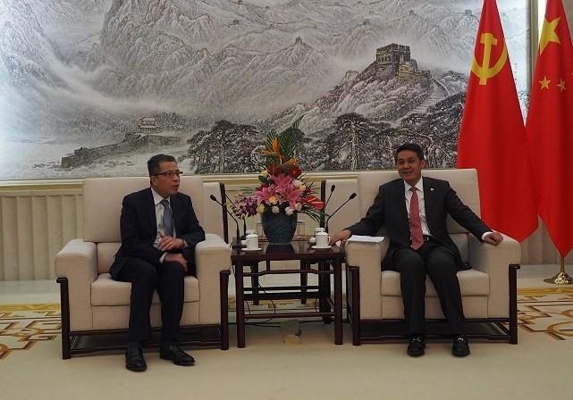 Компартии Вьетнама и Китая активизируют сотрудничество - ảnh 1