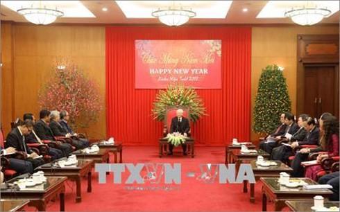Нгуен Фу Чонг принял послов и временных поверенных в делах стран АСЕАН - ảnh 1