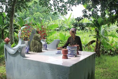 Деревня Дитьви и её традиция поклонения каменной собаке - ảnh 3
