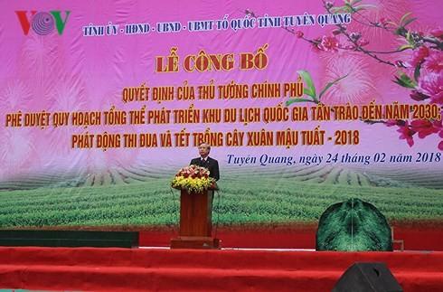 Обнародован генеральный план развития национальной туристической зоны Танчао - ảnh 1