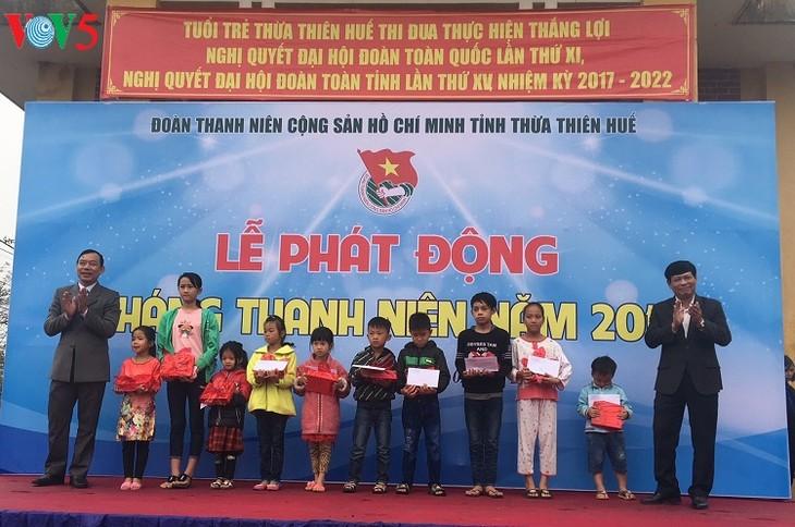 В разных районах Вьетнама проходит Месячник молодёжи 2018 года - ảnh 2