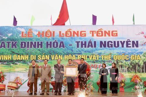 В провинции Тхайнгуен прошёл праздник выхода на рисовые поля - ảnh 1
