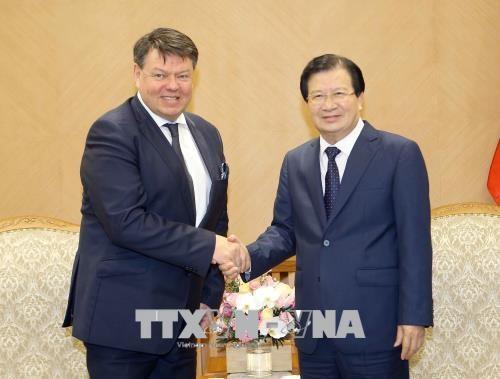 Вице-премьер СРВ Чинь Динь Зунг принял генерального секретаря ВМО - ảnh 1
