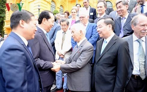 Президент Вьетнама встретился с учёными, участвовавшими в конференции «Наука для развития» - ảnh 1