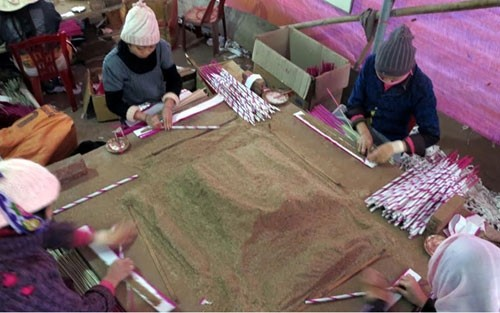 Деревни по изготовлению благовоний в уезде Куитяу провинции Нгеан - ảnh 1