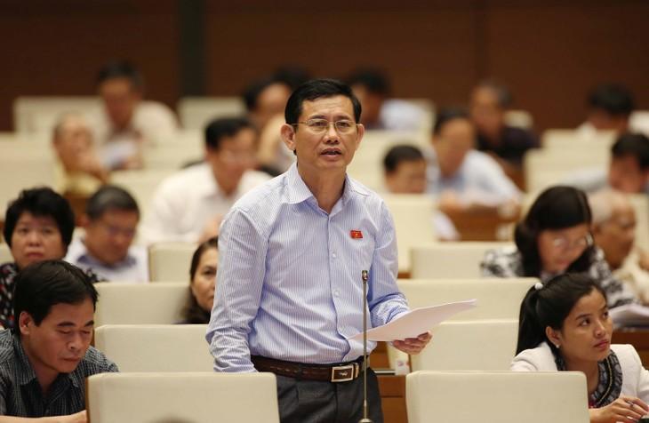 На 5-й сессии Нацсобрания СРВ был обсужден Закон о геодезии и картографии и Закон о животноводстве - ảnh 1