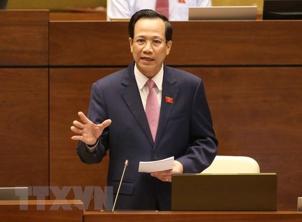 Министр Дао Нгок Зунг: 2018 год является прорывным годом в сфере профобучения - ảnh 1