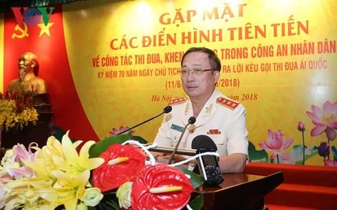 Народная милиция Вьетнама повышает качество патриотических соревнований - ảnh 1
