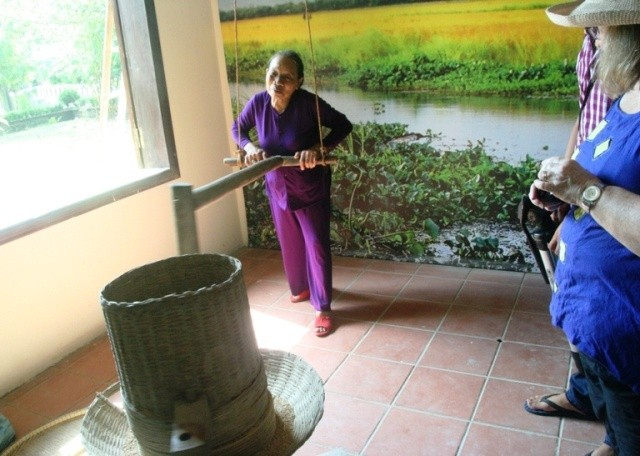 Сельское пространство г.Хюэ в доме-музее сельскохозяйственных орудий Тханьтоан - ảnh 5