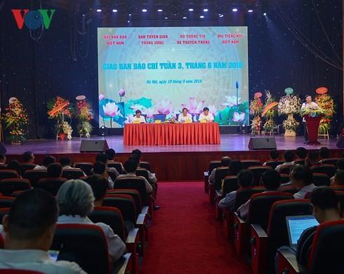 Во Вьетнаме отмечается 93-я годовщина Дня революционной прессы - ảnh 1