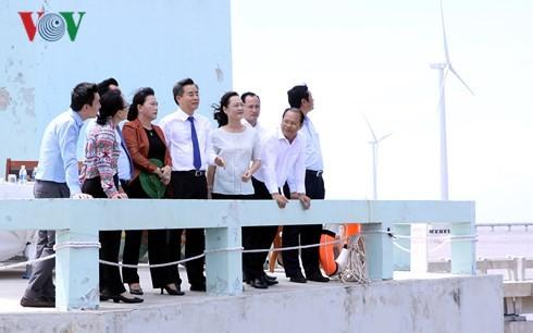 Нгуен Тхи Ким Нган совершила рабочую поездку в провинцию Баклиеу - ảnh 1