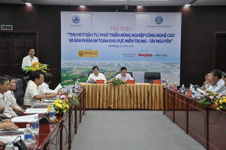 Центральный Вьетнам и плато Тэйнгуен привлекают инвестиции в высокотехнологичное сельское хозяйство - ảnh 1