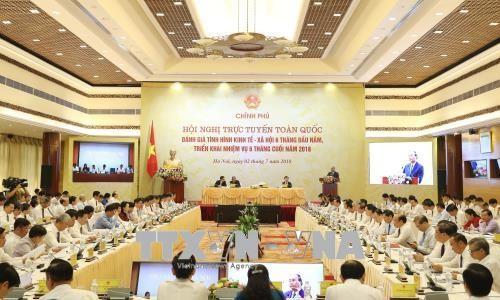 За прошедшие 6 месяцев в социально-экономическом положении Вьетнама наблюдались позитивные сдвиги - ảnh 2