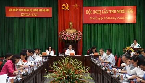 Секретарь парткома Ханоя: Необходимо продолжать повышать ответственность за строительство столицы - ảnh 1