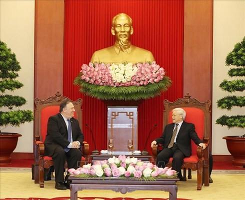 Вьетнам и США укрепляют всеобъемлющее партнёрство - ảnh 2
