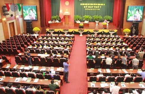 Нгуен Тхи Ким Нган приняла участие в открытии 7-й сессии народного совета города Хайфона - ảnh 2