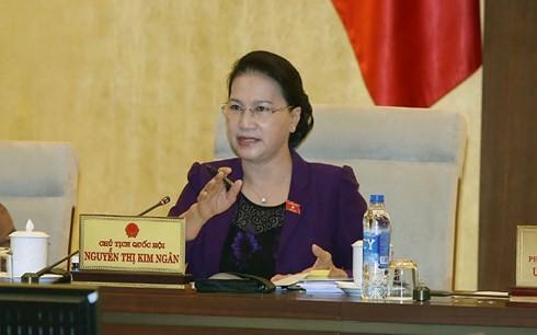 В Ханое открылось 25-е заседание Постоянного комитета Нацсобрания СРВ - ảnh 2