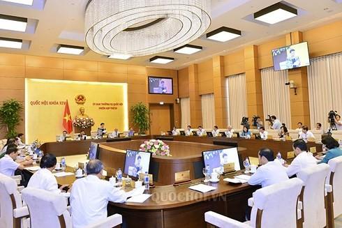 В Ханое открылось 25-е заседание Постоянного комитета Нацсобрания СРВ - ảnh 1