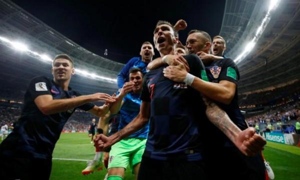 Сборная Хорватии сыграет со Францией в финале ЧМ-2018 - ảnh 1
