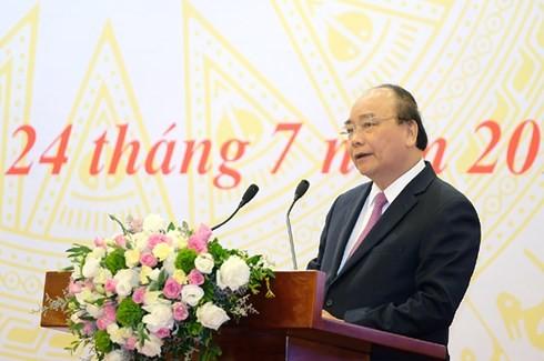 Премьер СРВ провел конференцию по продвижению механизмов «Одно окно» Вьетнама и АСЕАН - ảnh 1