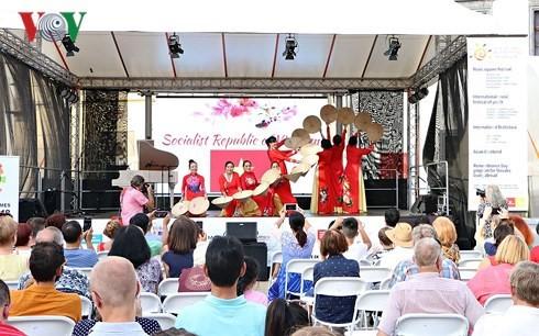 Вьетнам принимает участие в фестивале азиатских культур в Словакии - ảnh 1