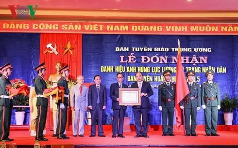 ОППВ парткома 5-го военного округа получил звание «Герой вооруженных сил» - ảnh 2