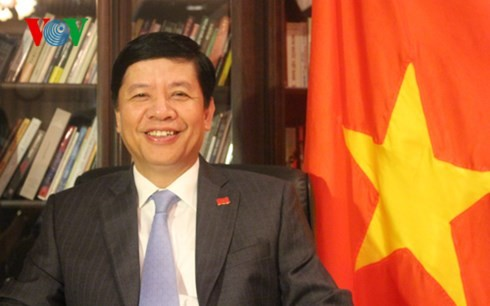 Вьетнамская дипломатия вместе с бизнес-сообществом преодолевает трудности - ảnh 3