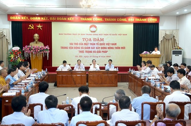 Роль Отечественного фронта Вьетнама в надзоре за строительством новой деревни - ảnh 1