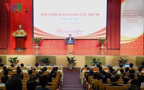 В Ханое завершилась 30-я дипломатическая конференция - ảnh 1