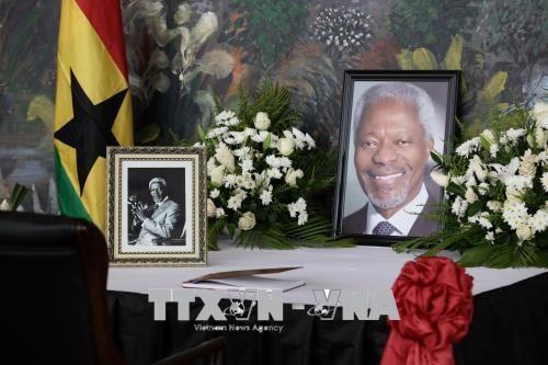 В штаб-квартире ООН в Нью-Йорке прошла траурная церемония в память о Кофи Аннане - ảnh 1