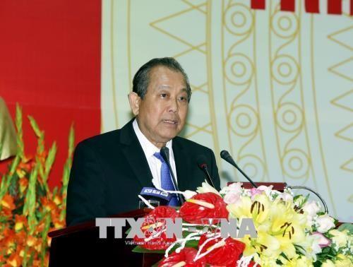 Чыонг Хоа Бинь: необходимо пристально следить за ситуацией с внеплановым переселением - ảnh 1