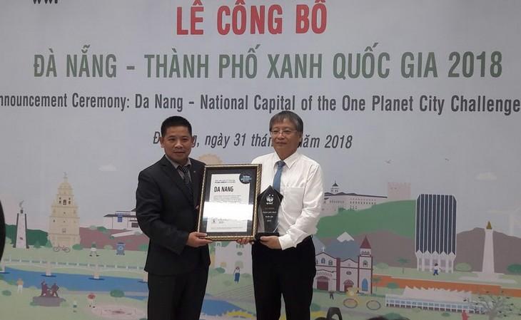 Дананг признан зелёным городом Вьетнама 2018 года - ảnh 1