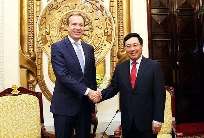 Борге Бренде: Мы высоко оцениваем роль Вьетнама в работе ВЭФ - ảnh 1