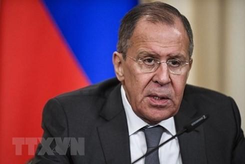 Лавров: Новые санкции загоняют отношения США и РФ в тупик - ảnh 1