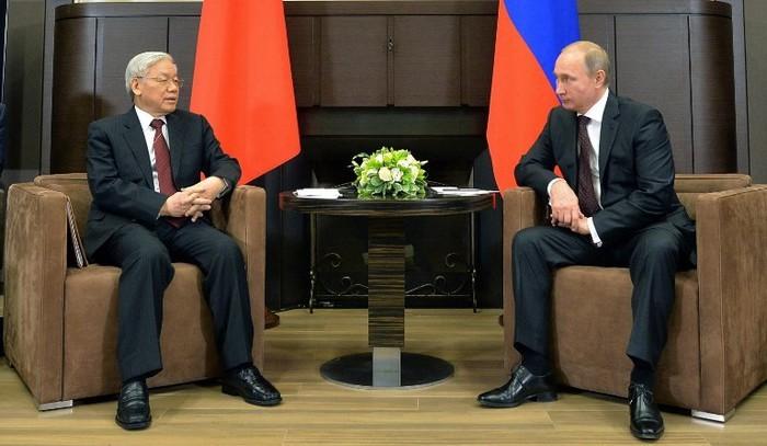 Российские эксперты высоко оценили визит генсека ЦК КПВ Нгуен Фу Чонга в РФ - ảnh 1