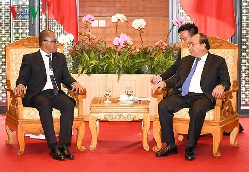 Нгуен Суан Фук принял министра иностранных дел и сотрудничества Восточного Тимора  - ảnh 1