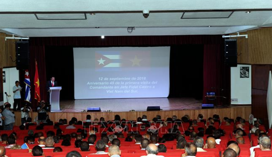 Во Вьетнаме отметили 45-летие со дня прибытия Фиделя Кастро в освобождённую зону - ảnh 1