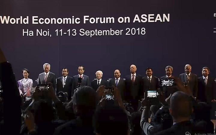 Саммит ВЭФ по АСЕАН во Вьетнаме произвёл впечатление на ИноСМИ - ảnh 1