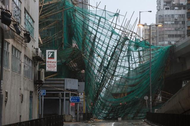 Супертайфун «Мангхут» нанес тяжёлый ущерб Китаю - ảnh 1