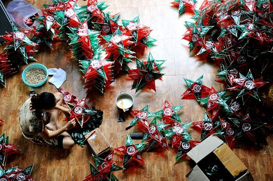 Деревня Хао, где изготовляют игрушки для традиционного праздника середина осени - ảnh 2