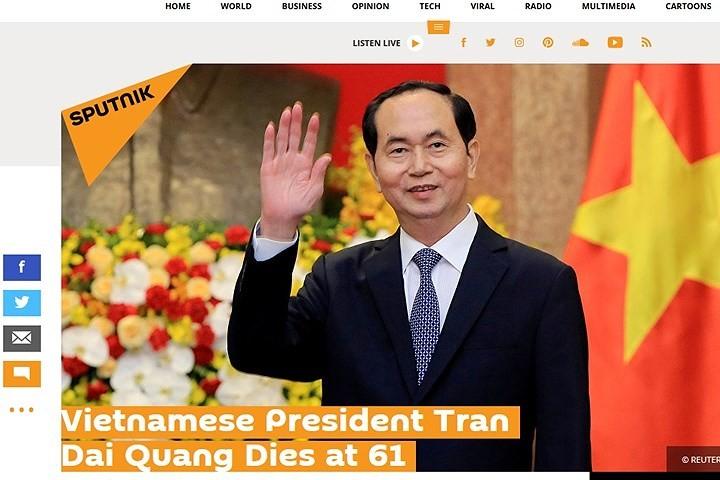 Мировые СМИ освещают смерть президента Вьетнама Чан Дай Куанга - ảnh 1