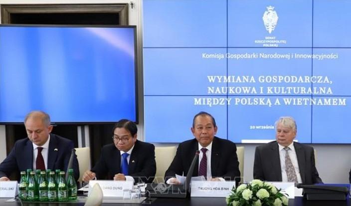 Чыонг Хоа Бинь выступил на семинаре по вьетнамо-польскому экономическому сотрудничеству - ảnh 1